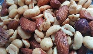 ořechy hořčík